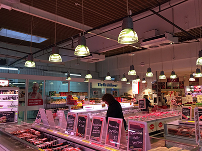 Grocery Counter LED Light Solutions